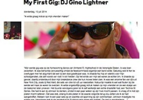 My First Gig DJ Gino Lightner