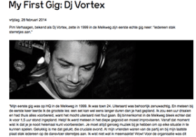First Gig: DJ Vortex