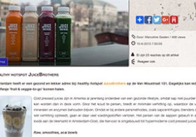 Blog Healthy hotspot JuiceBrothers