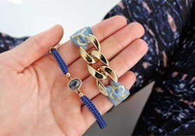 Armband annex haarelastiekje