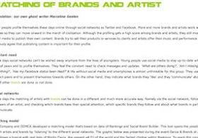 HoT-blog: Matching of brands and artist