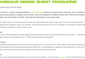 Deadmau5 disses ghost producing