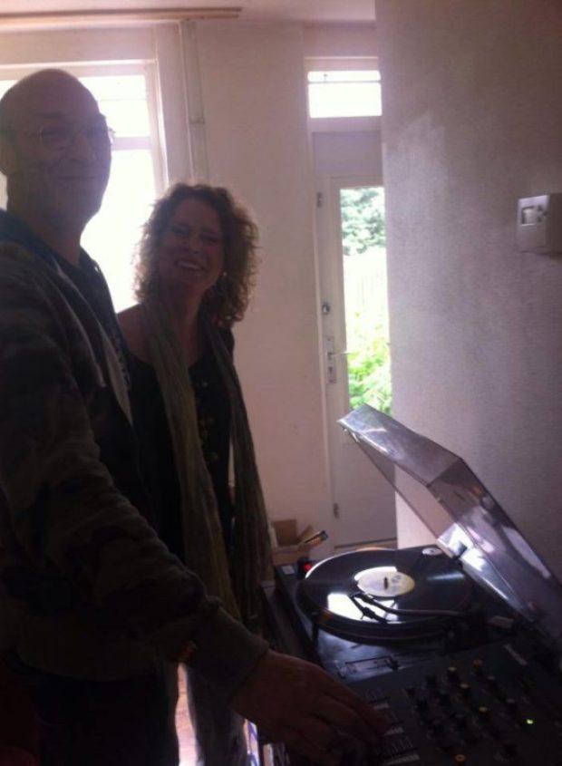 DJ Monde in Marceline's home