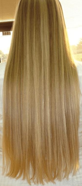 Dgrad En V Cheveux Long