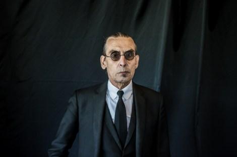 portret Jules Deelder portretfotograaf - Marcel Krijgsman