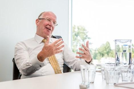 Corporatie fotografie - Interview Dirk Olivier (Veenman) - Marcel Krijgsman