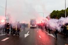 vitesse, Vitesse gehuldigd in centrum Arnhem