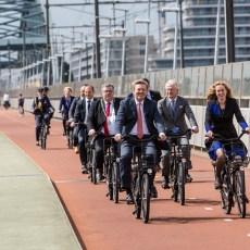 Koning Willem Alexander opent Velo City 2017