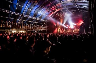 Optreden van de band Navarone tijdens Eurosonic 2017 in Groningen op Eurosonic Air. Foto: Marcel Krijgsman.