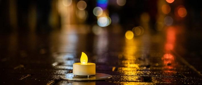 Herdenking 75 jaar bombardement Nijmegen: brandgrens