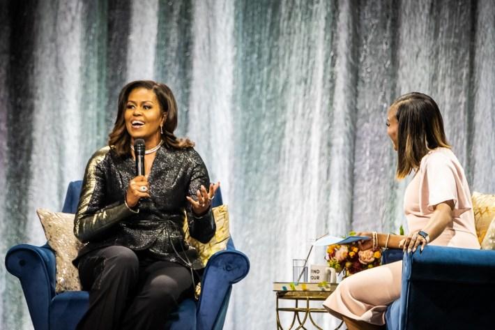 michelle obama, Michelle Obama, een echte First Lady op bezoek in Ziggo Dome