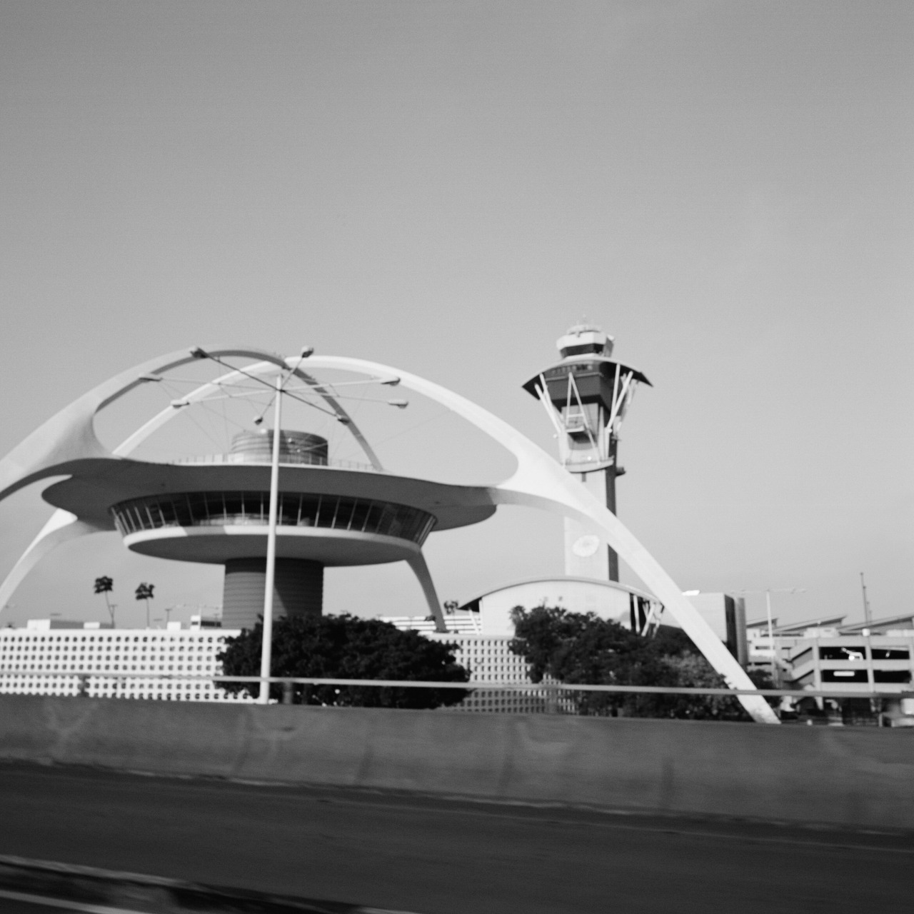 The LAX Theme Building by Pereira & Luckman Architects.