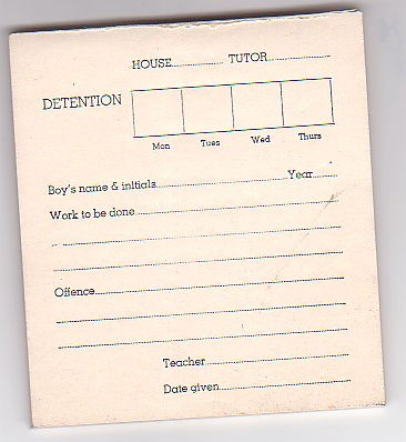 Detentionslip