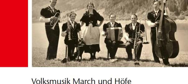 Buch Volksmusik March und Höfe