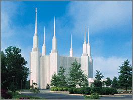 Templo de Washinton D.C., EUA