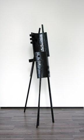 Boodschapper (Joen) - 202 x 93 x 50 cm. - mixed media