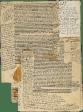 Page manuscrite de la Recherche