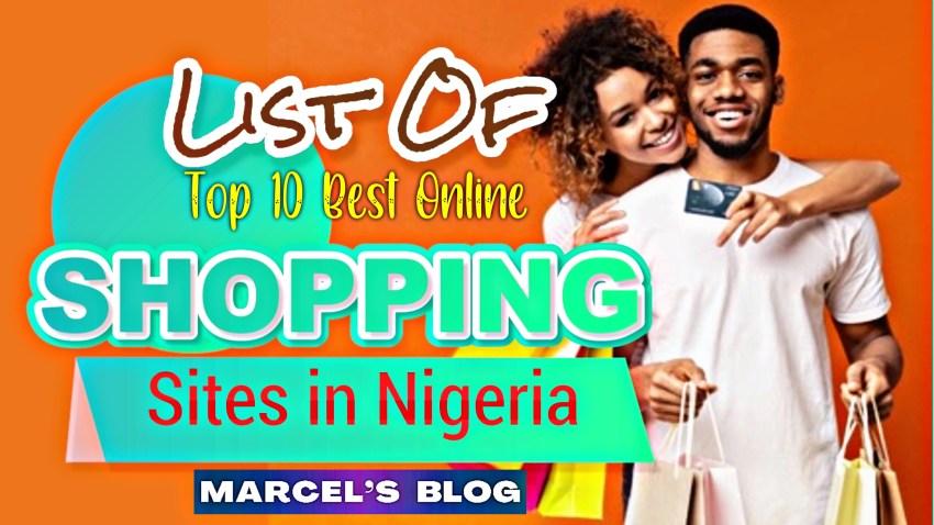 List of Top 10 Best Online Shopping Sites In Nigeria