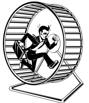 Hamster Wheel Guy