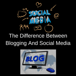 Blogging VS Social Media