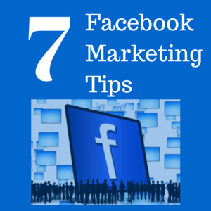 7 facebook marketing tips picture