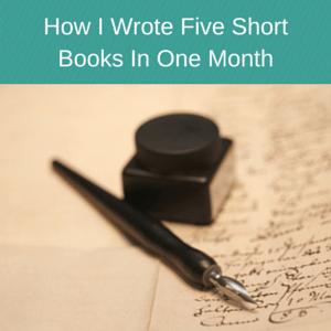 Write books fast