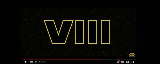Star Wars VIII Video