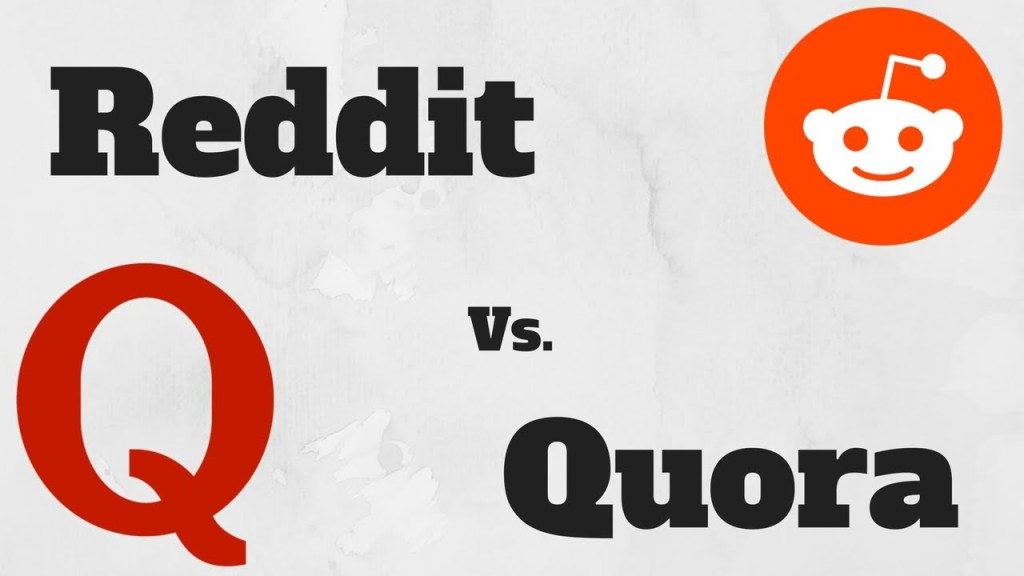 reddit vs quora