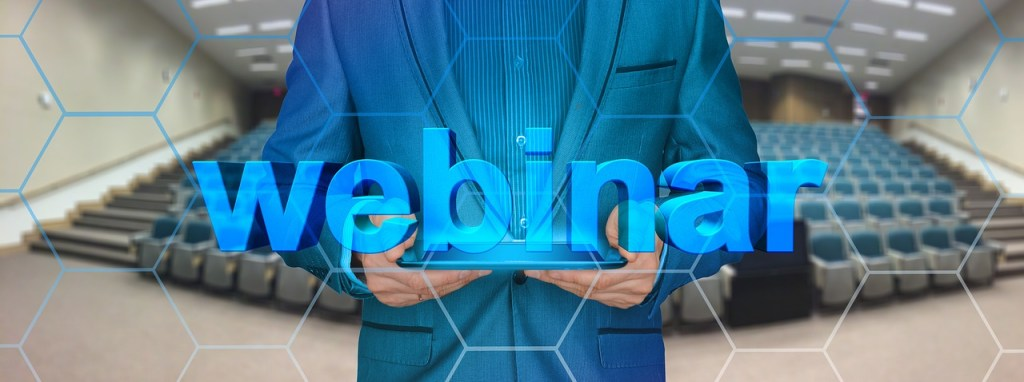 creating a webinar