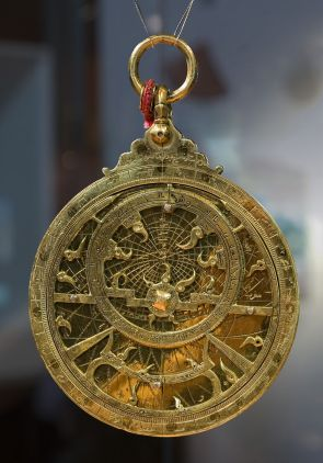 Figure 5a: 17th Century Astrolabe (Front)