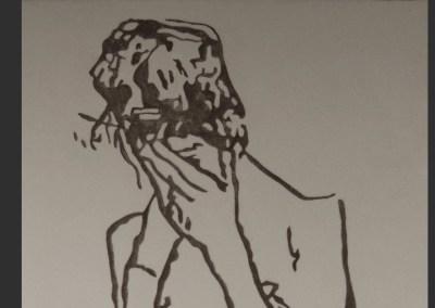 Egon Schiele – Femme pudique