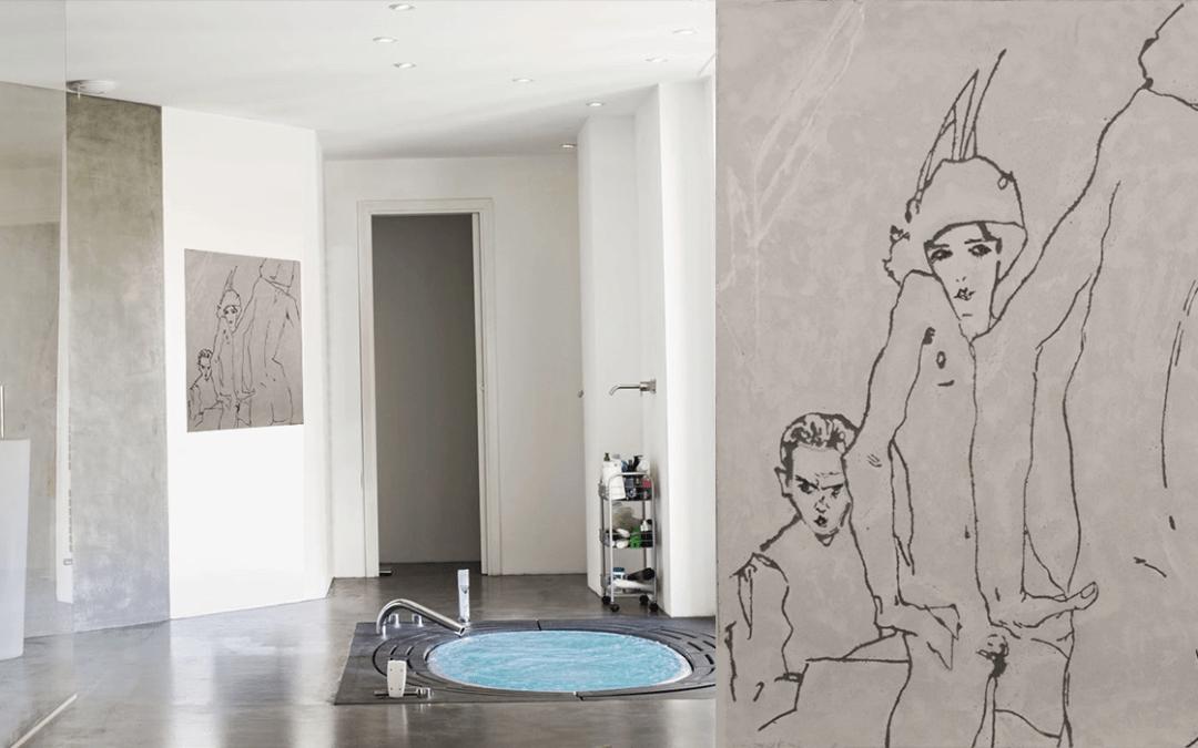Egon Schiele – Femme au miroir – SDB