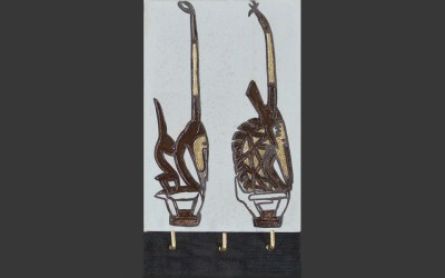 La tête du fauve insoumis de la culture Bambara