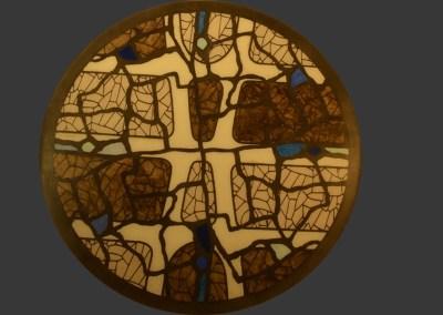 Plateau de table d'inspiration Gaudi beige