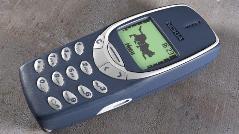 Le portable des années quatre-vingt-dix