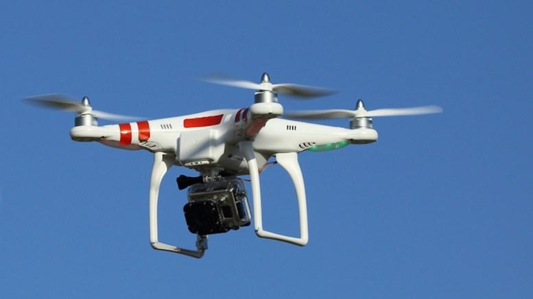 drone et réception