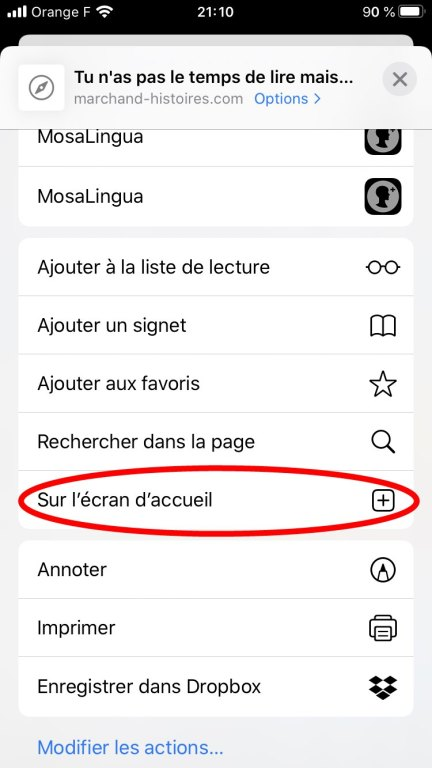 Voici l'instruction qui permet d'aboutir