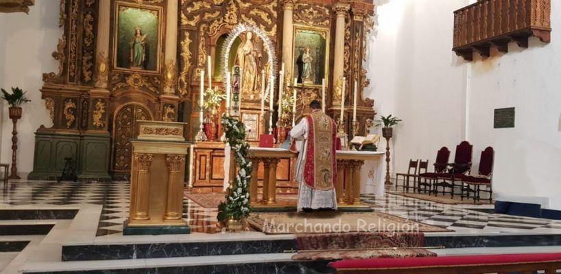 Los colores litúrgicos-Me acercaré al Altar de Dios