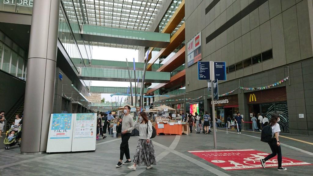 二子玉川ライズ:二子玉川ストリートマーケット_ふたこ座20200718(4)
