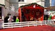 La maison du Père-Noël de jour