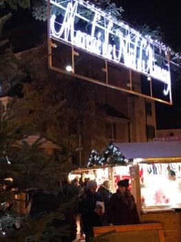 Bienvenue au Marché de Noël d'Annecy !