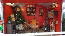 L'intérieur de la maison du Père-Noël
