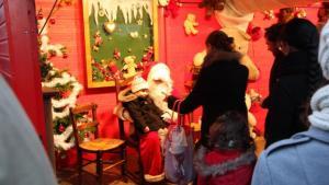Une monde fou au marché de Noël de Nantes