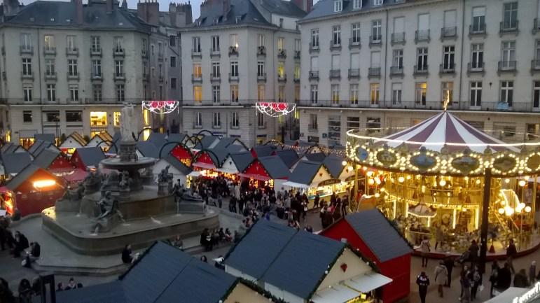 Marché de Noël Nantes Place Royale 2016