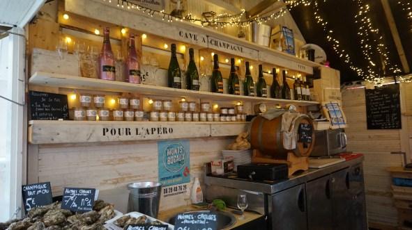 Nouveauté: le bar à huîtres!