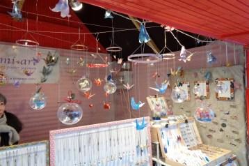 bijoux et décor en origami