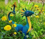 24 Dragons - Dragons of the Dordogne  -  Crochet