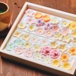 まるで木箱に入った花畑! カラフルな色合いと花の形が美しい和菓子/思わずジャケ買い!な手土産 vol.32