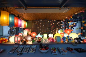 Lampes en papier de mûrier