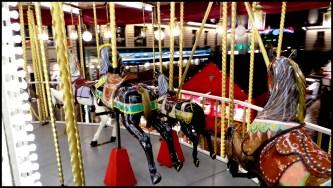 Le Marché vu du carrousel